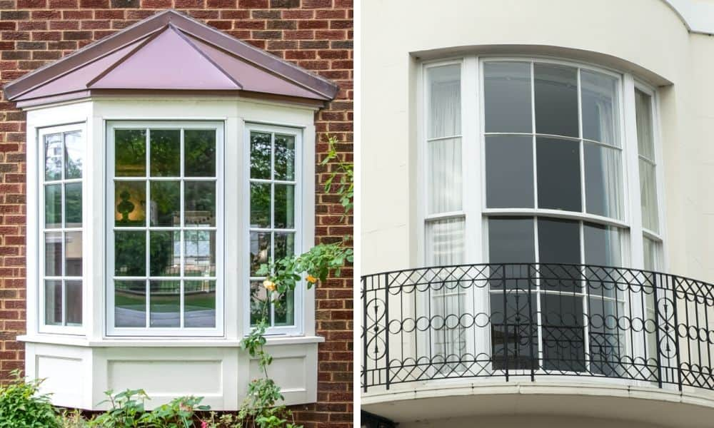 Bay Window vs. Bow Window