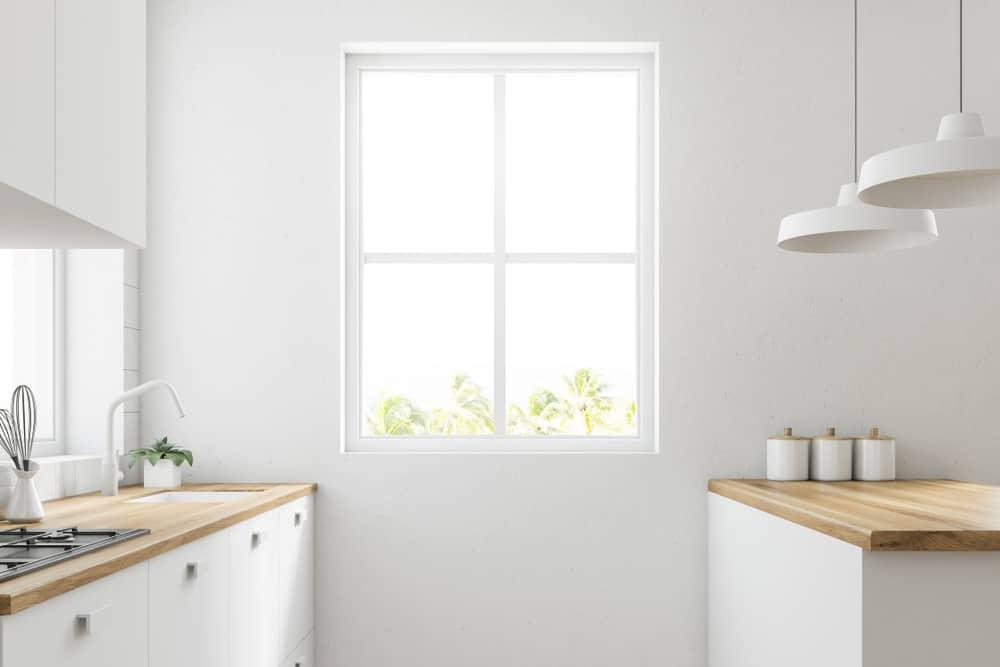 Standard kitchen window size