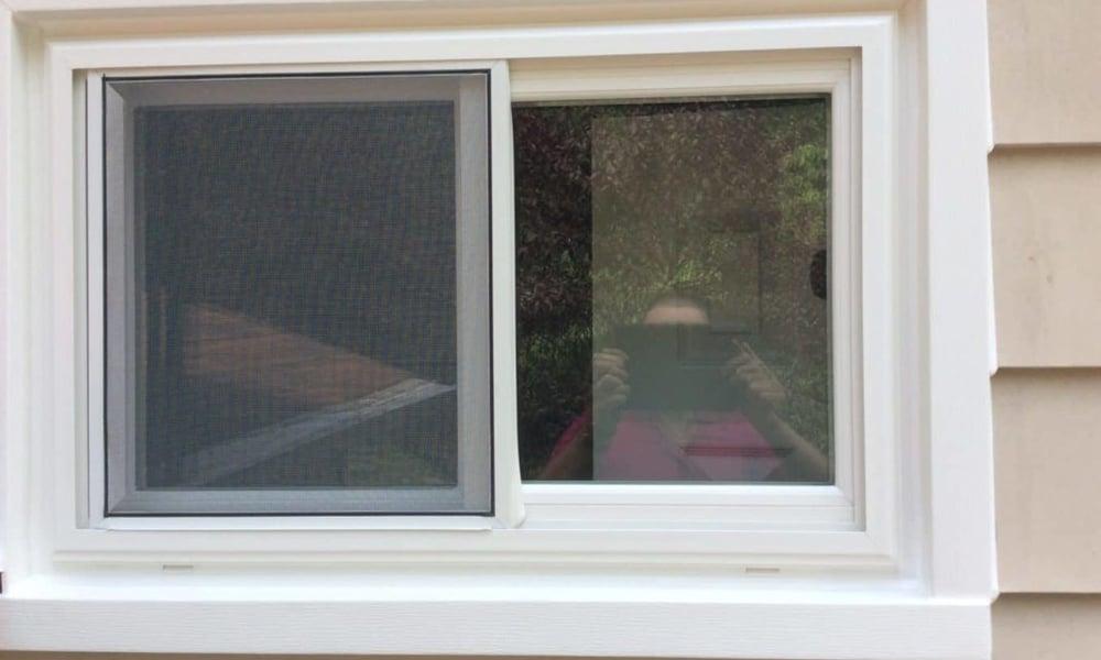 Two-panel slider windows