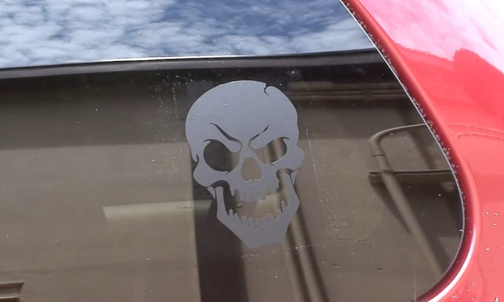19 Homemade Car Window Decal Plans You Can DIY Easily