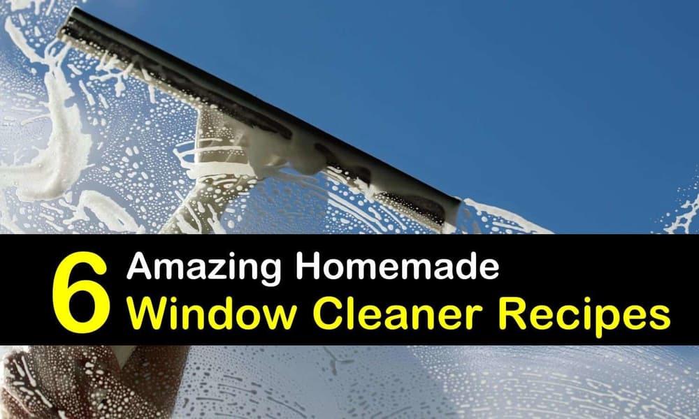 6 amazing homemade window cleaner recipes