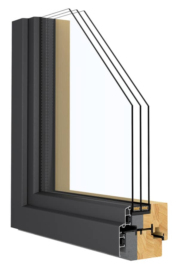 Composite Wood Types of Window Frames