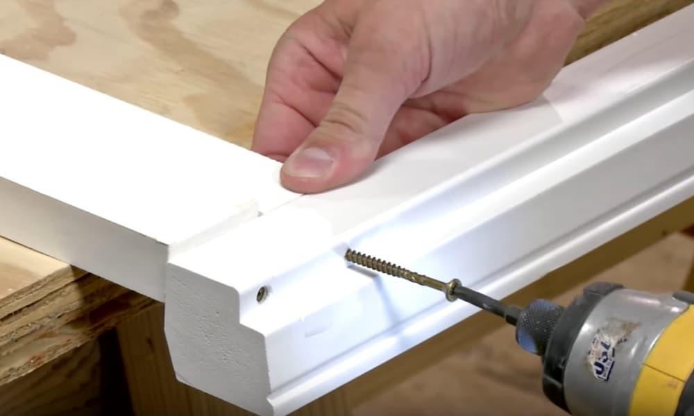 Consider using screws and plugs