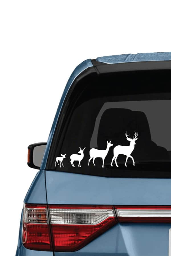 DIY decals with or without a cutting machine