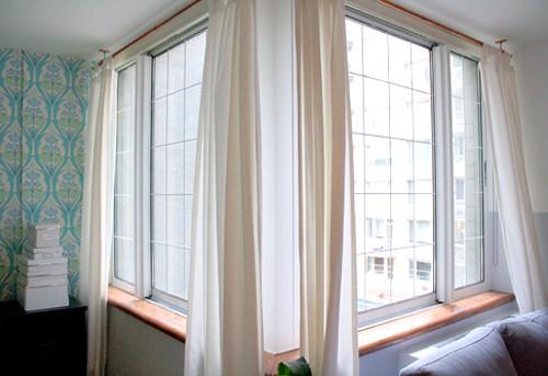 DIY faux french windows