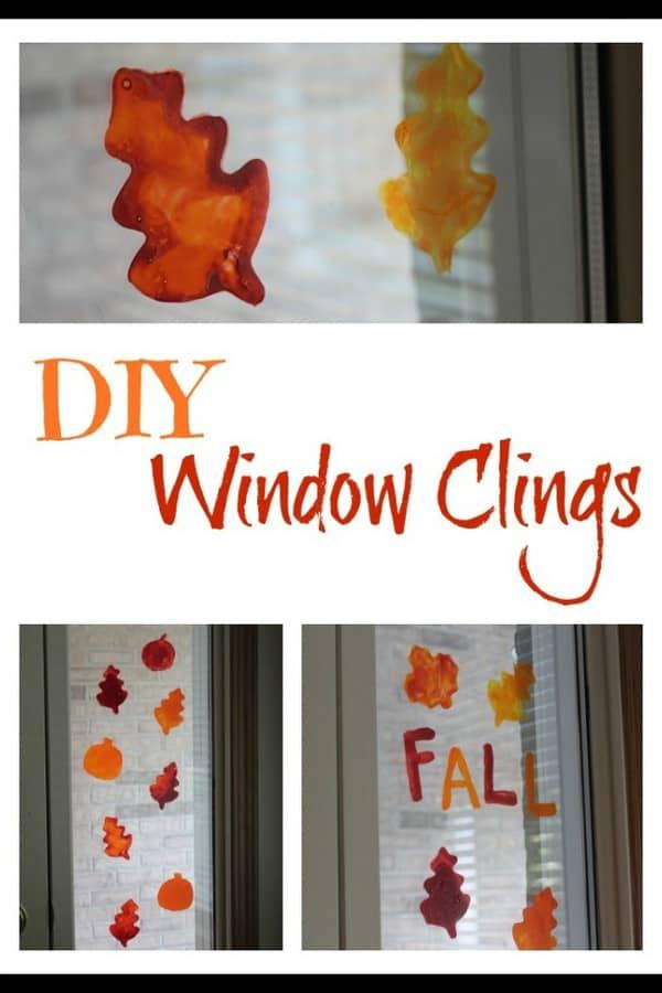 DIY window clings