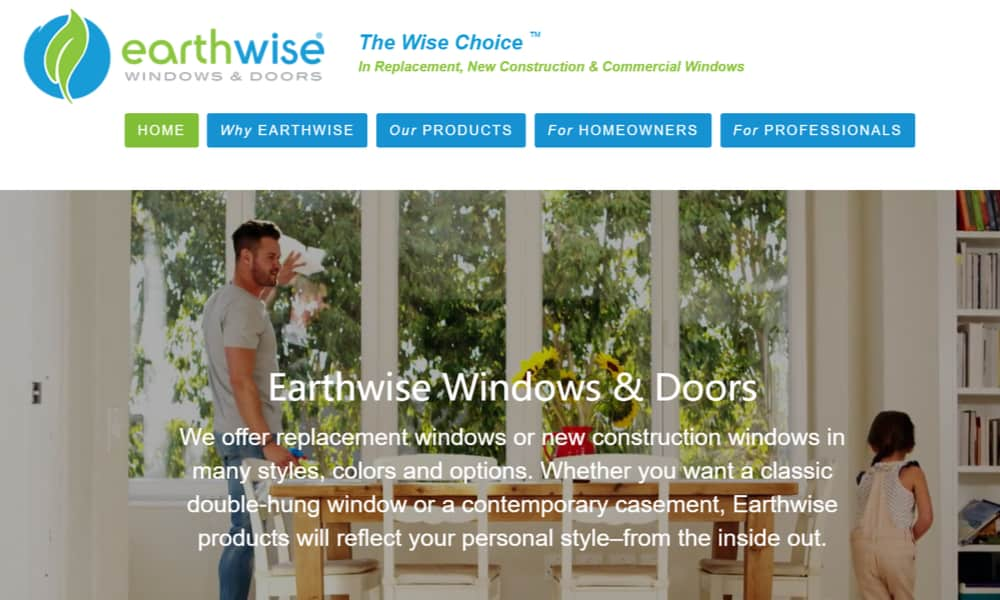 Earthwise Group LLC window manufacturer