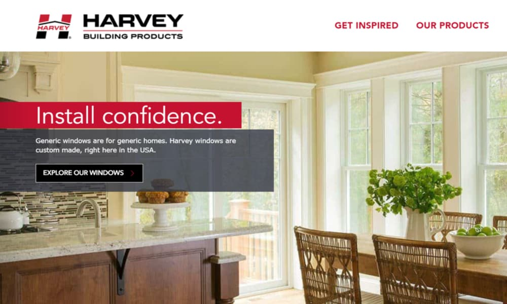 Harvey Building Products window manufacturer