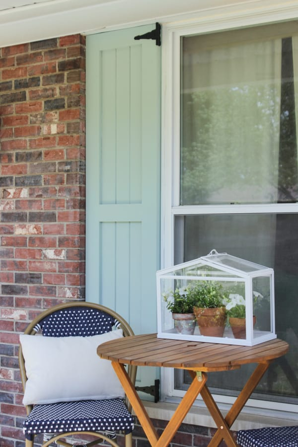 How to build Craftsman-style exterior shutters