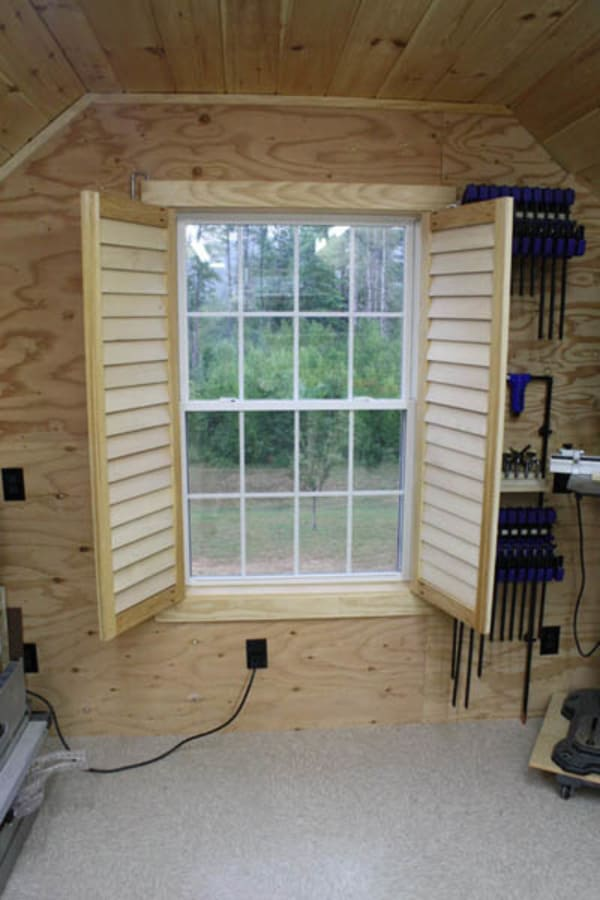 How to build custom plantation shutters