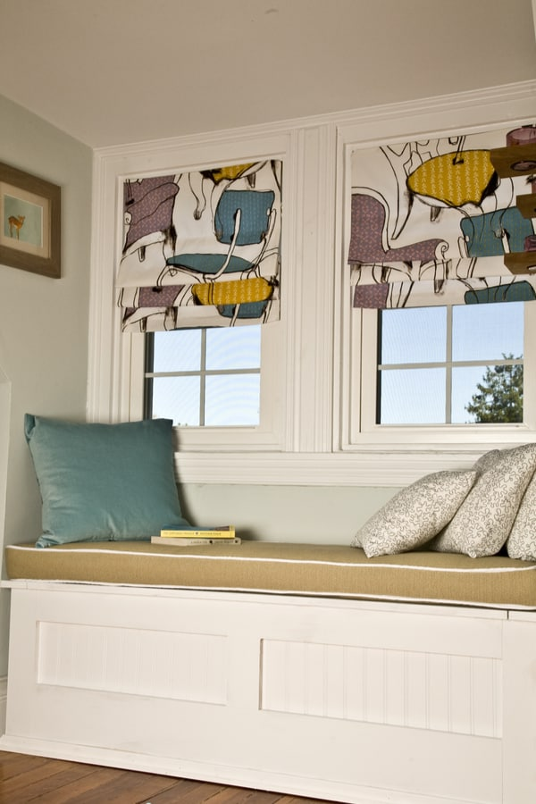 How to make a window seat cushion with piping 1