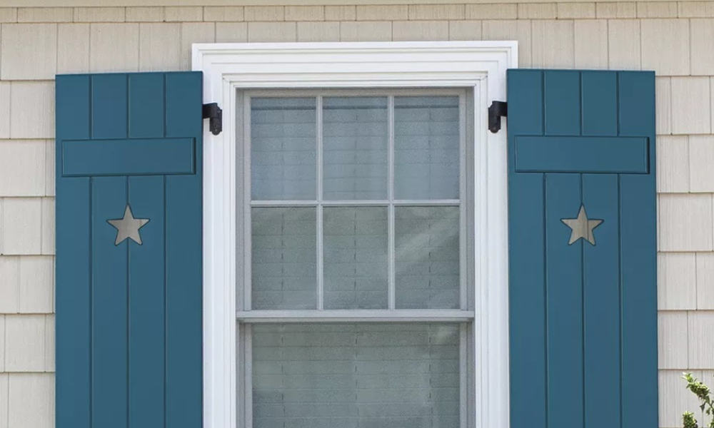 How to make board-and-batten shutters