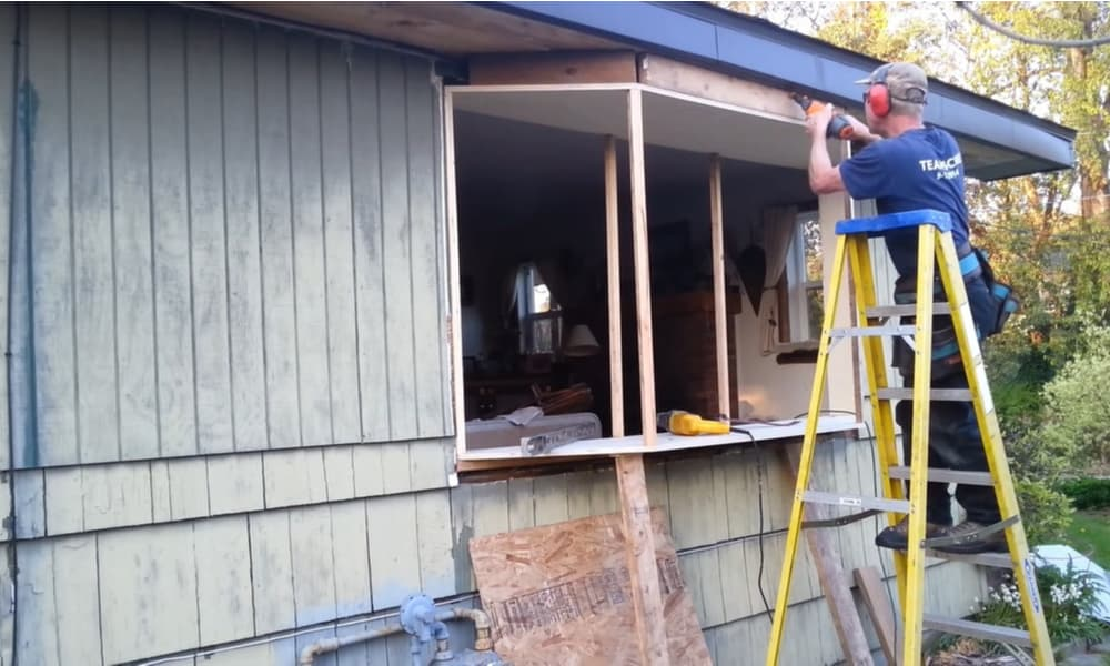 Making the roof frame