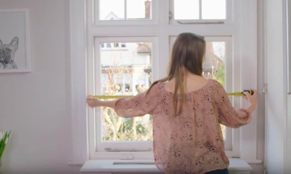 Measure the window width