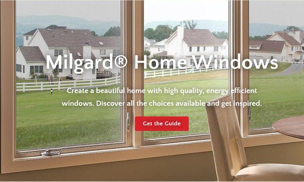 Milgard Windows and Doors window manufacturer