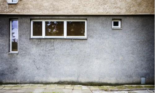 Zagruntuj ramę okna