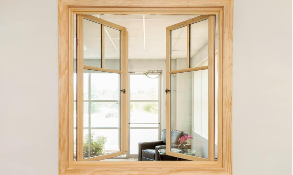 Push-out casement windows