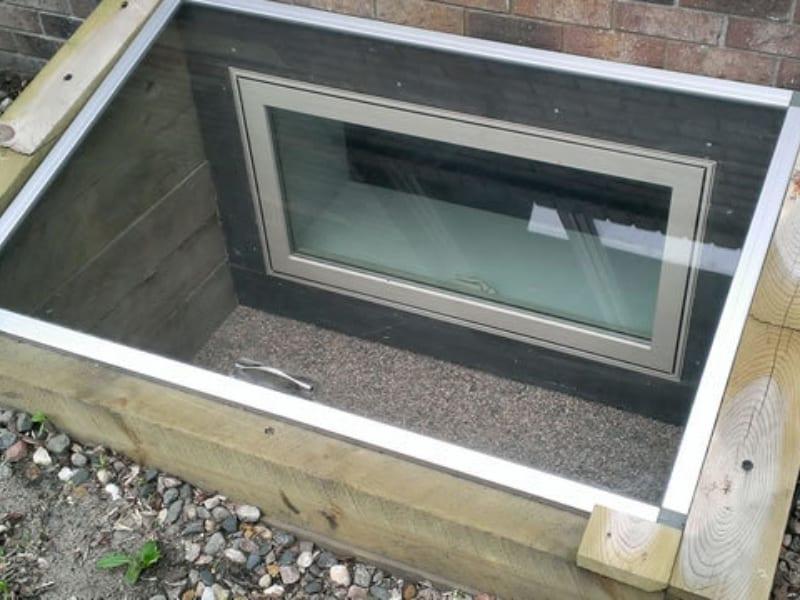 Skylight egress window 1