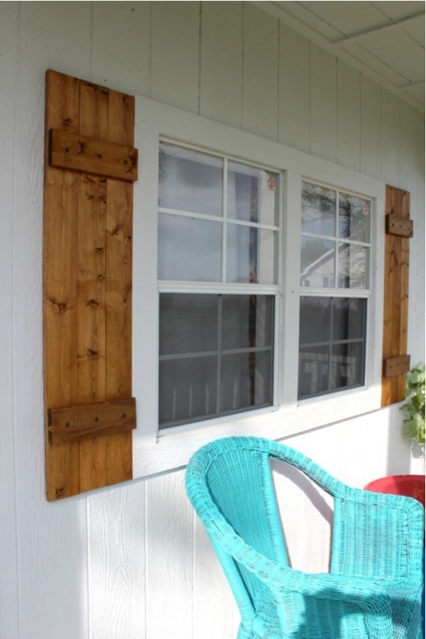 Super-simple DIY shutters