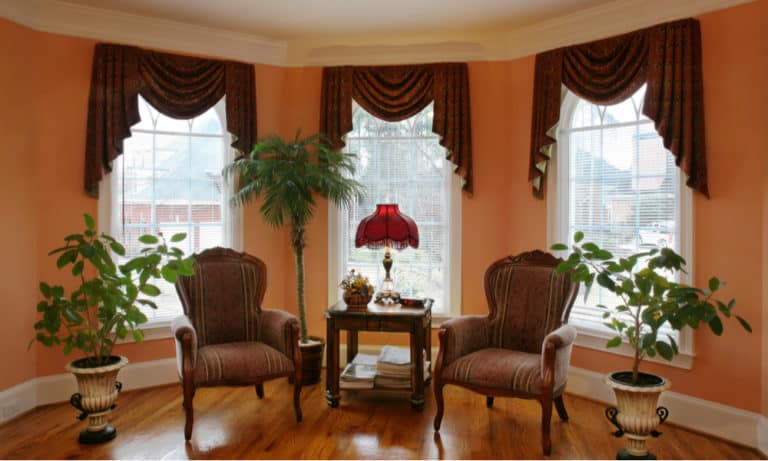 31 Stylish Bay Window Ideas - Design & Decorating for Your Living Room