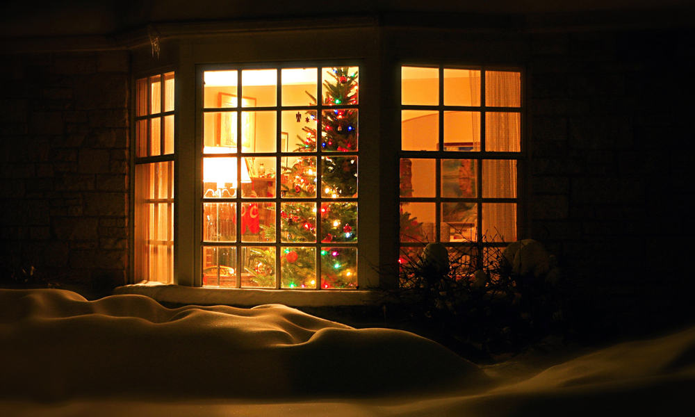 Bay Windows for Christmas
