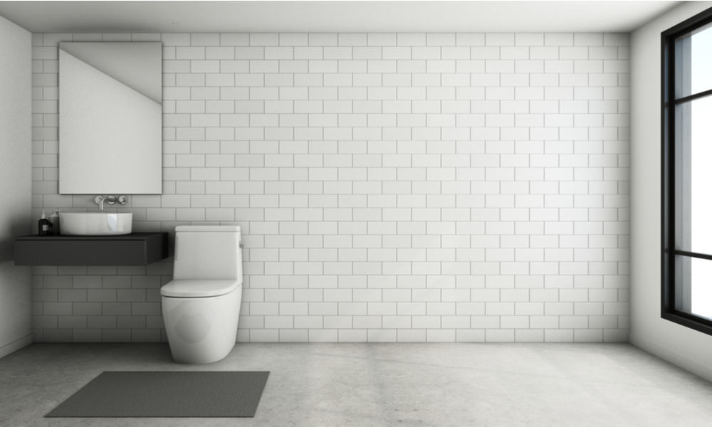 Minimal Powder Room