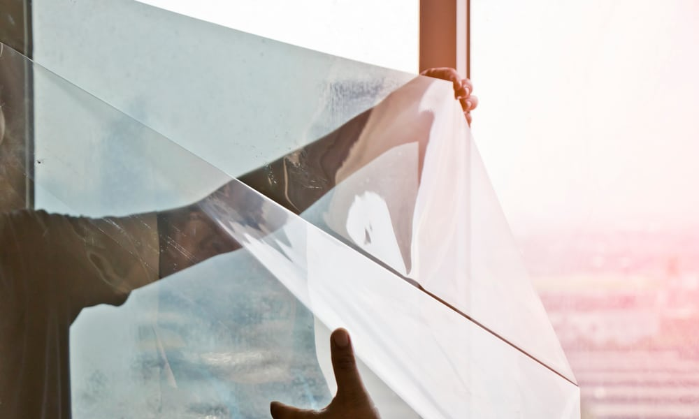 What is the difference between reflective and regular window film