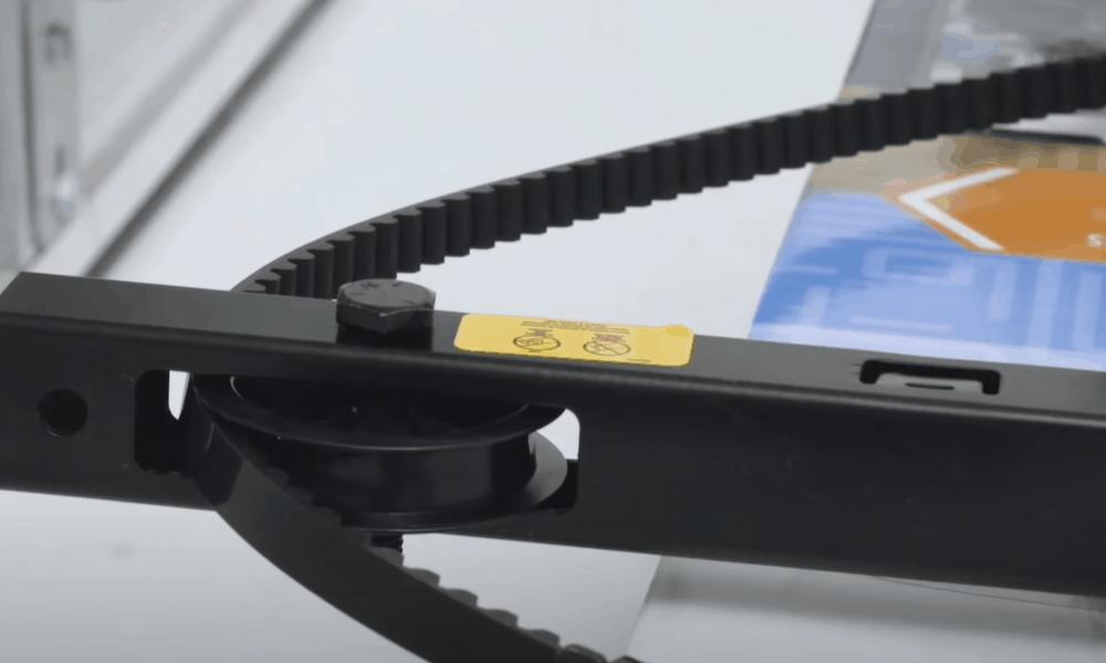 Belt-driven garage door openers