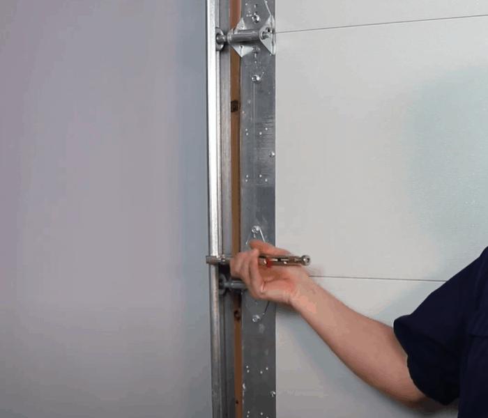 Close the garage door