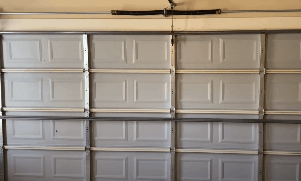 Close the garage door