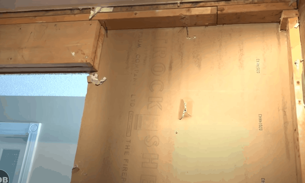 Construct the rough opening for your door