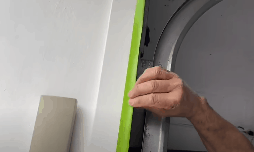 Cover areas you don't want to paint