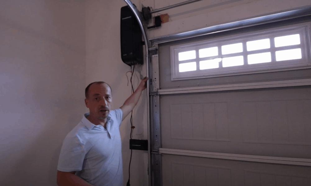 Direct-drive garage door openers