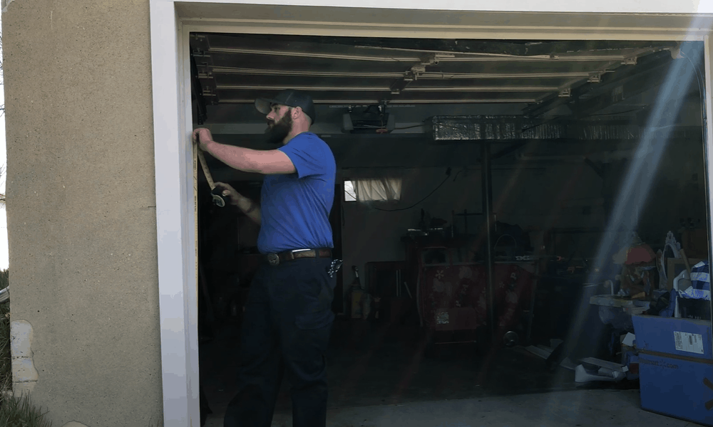 Garage Door Measurements