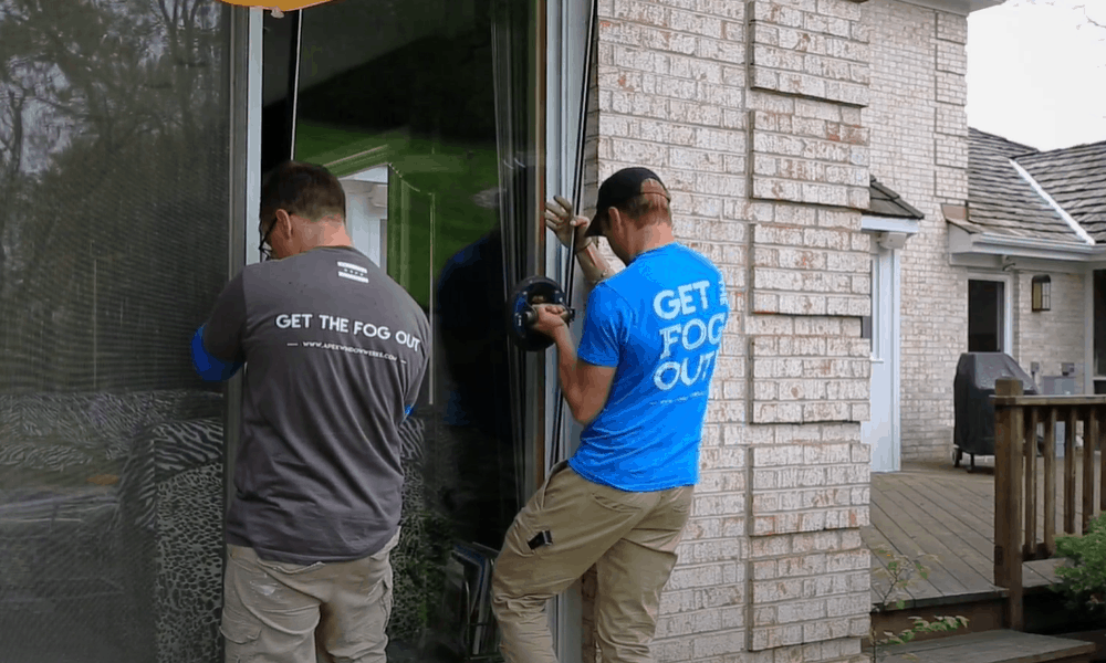 Replace Door Glass With Double Or Triple Glazing