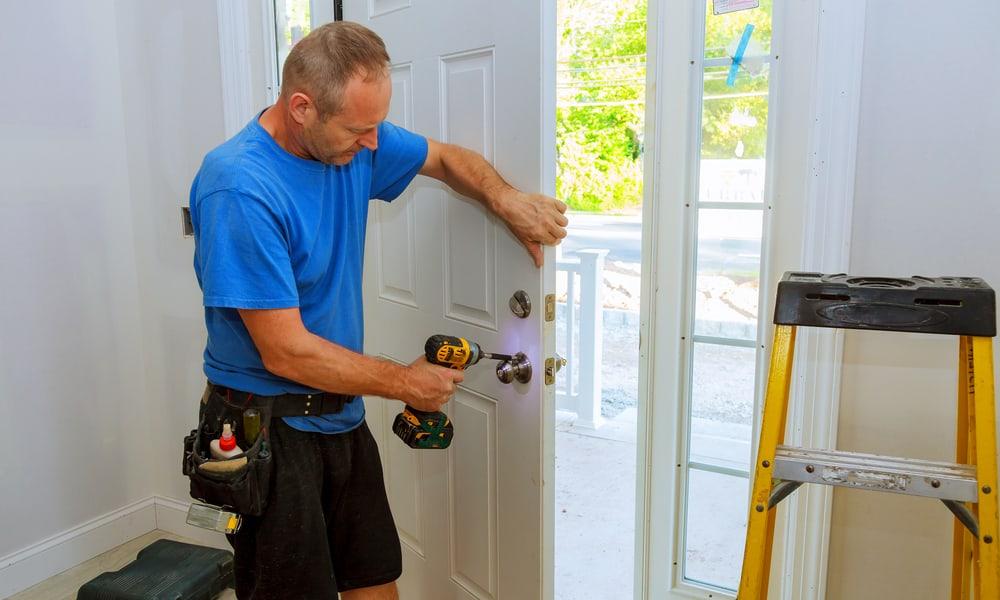 13 Ways To Secure Front Door