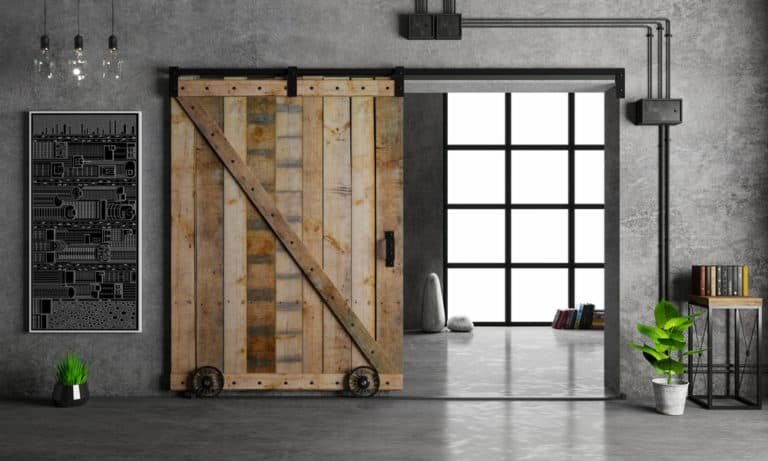 19 Homemade Barn Door Hardware Plans You Can DIY Easily