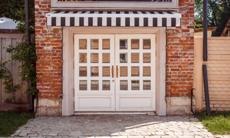 19 Homemade Door Awning Plans You Can DIY Easily