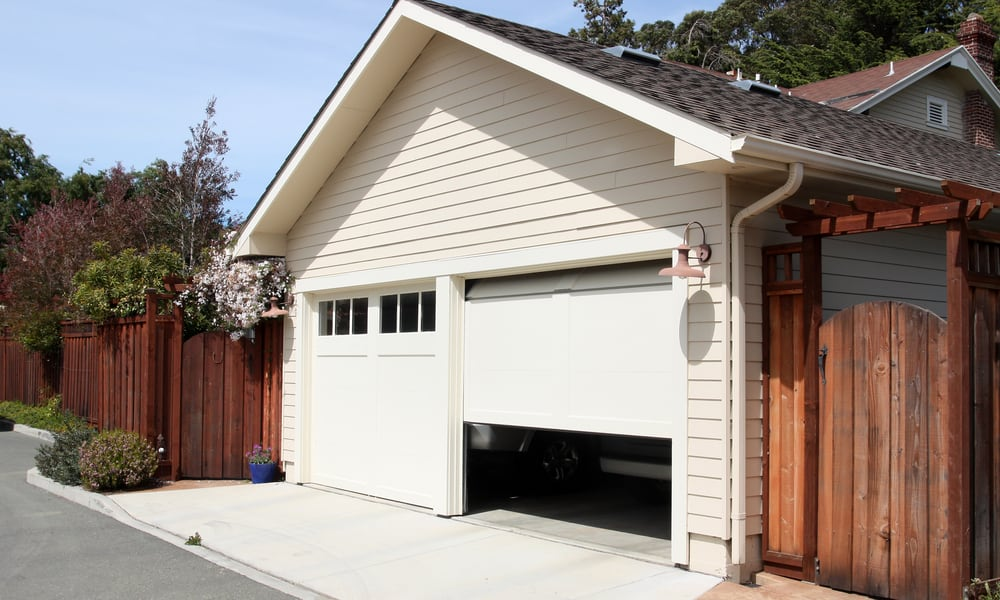 19 Homemade Garage Door Plans You Can DIY Easily