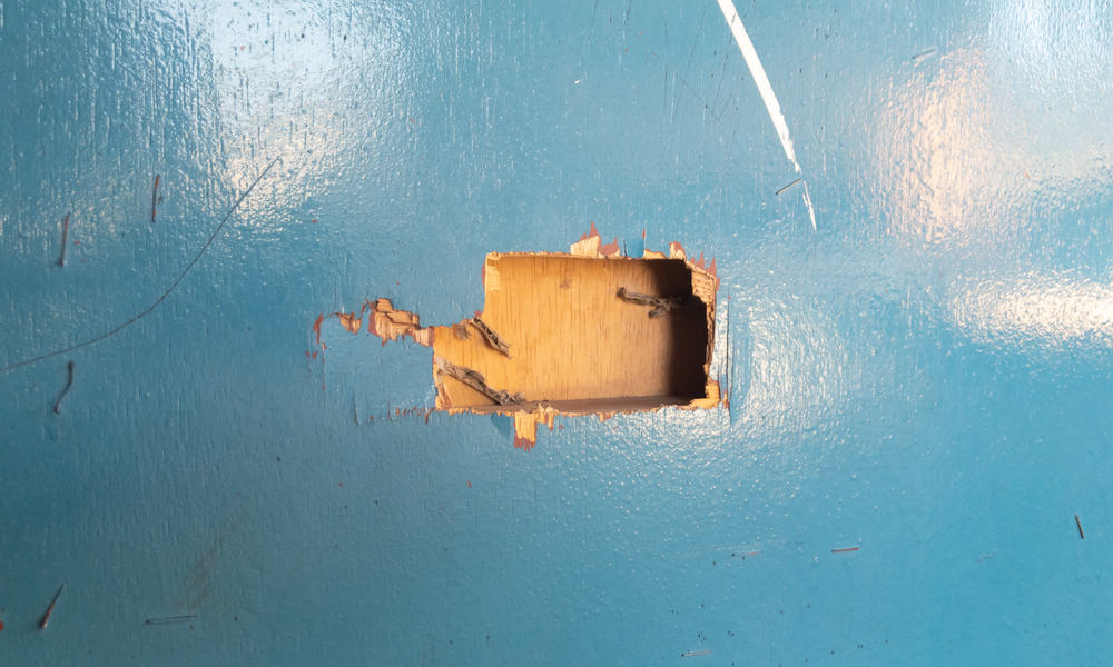 9 Steps To Fix A Hole In A Door