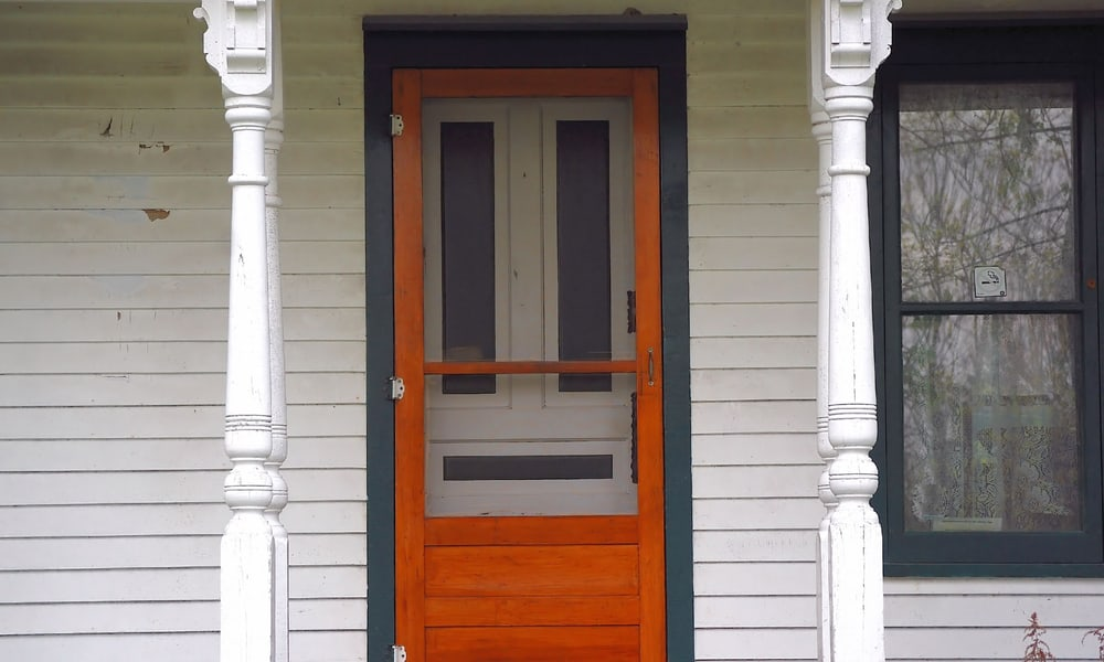 9 Steps To Install A Screen Door