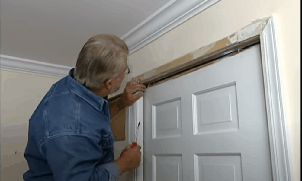 Adjust the door for a perfect fit