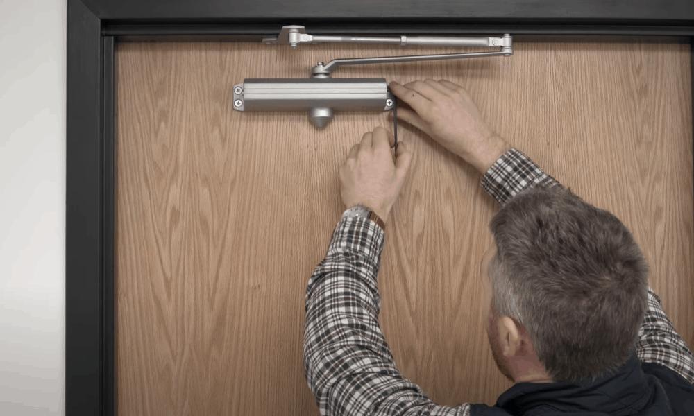 Adjust the screw