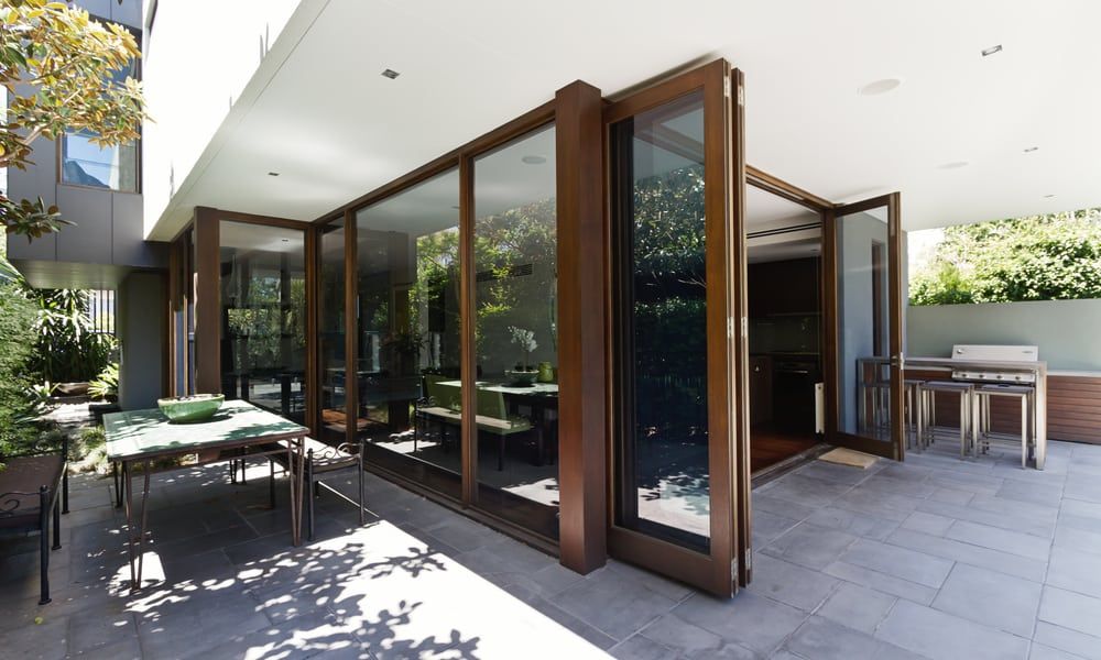 Bi-Fold Patio Glass Doors