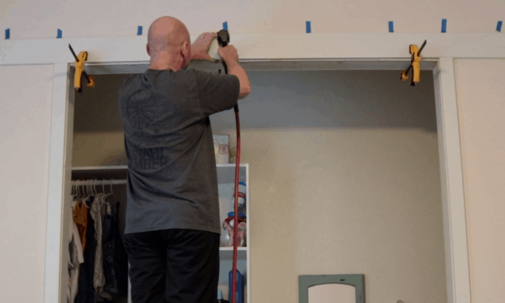 Build Closet Barn Doors Using Cheap Lumber and Hardware from Amazon
