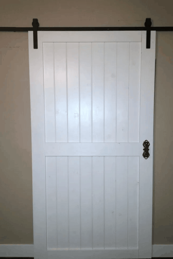 Cheap & Easy Barn Door