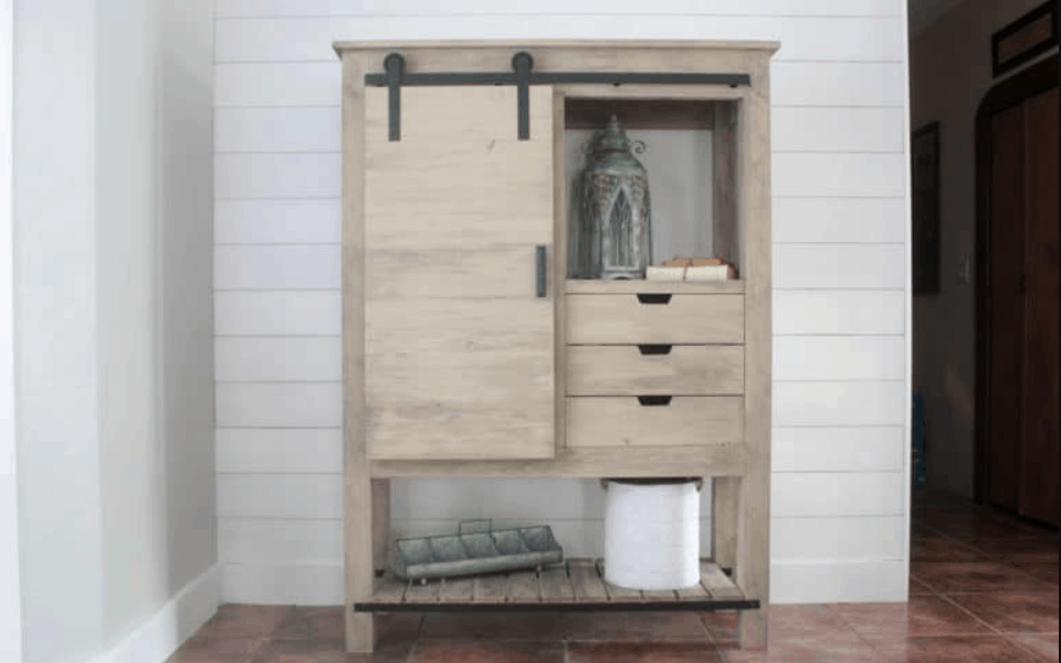 Cheap and Easy DIY Barn Door Hardware