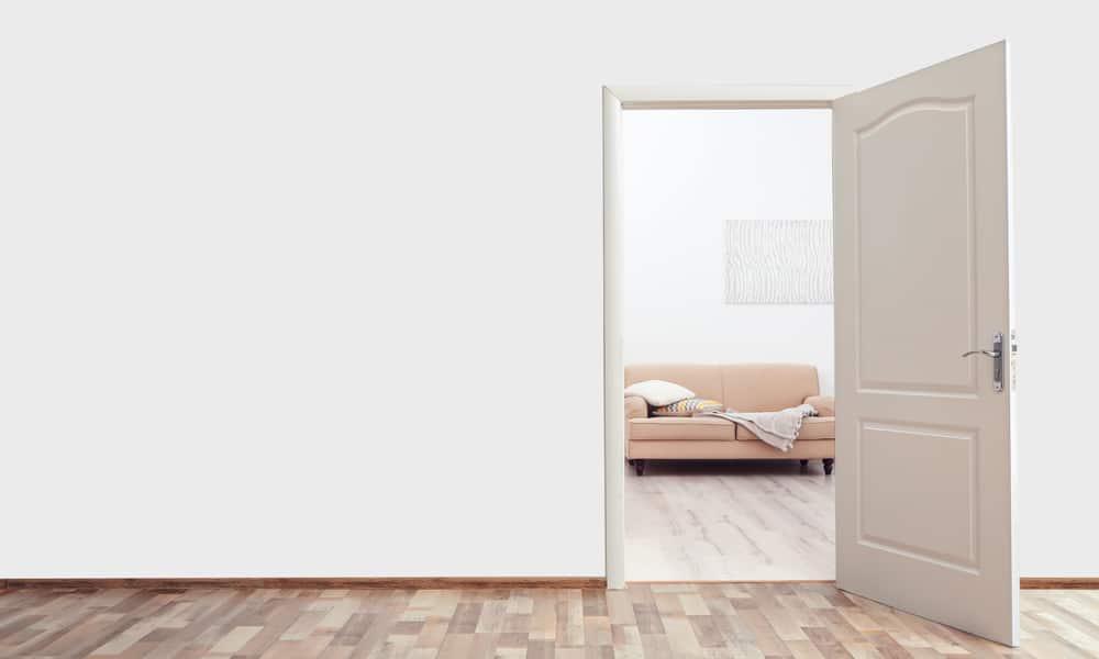 Check the type of door