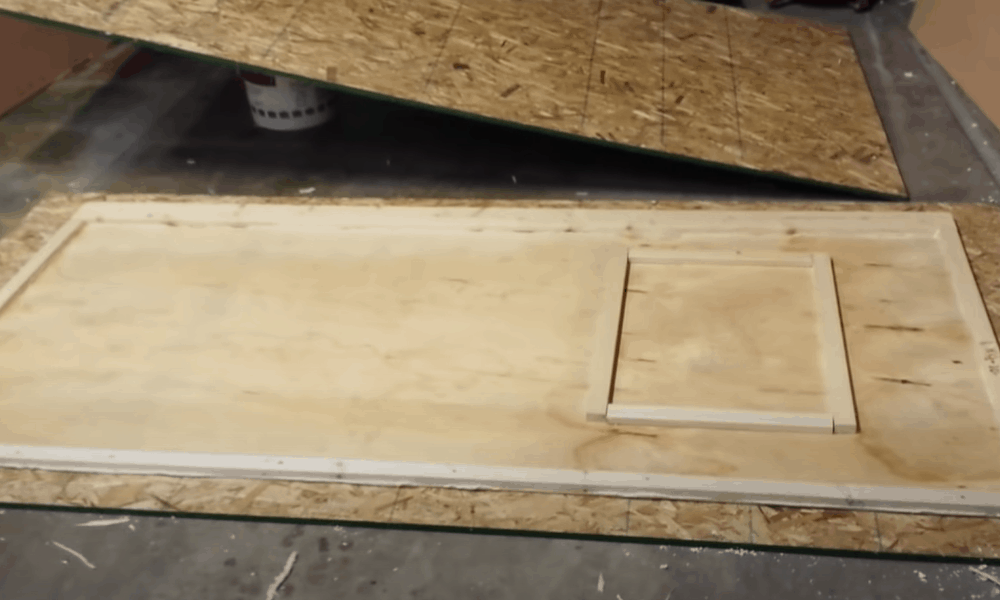 Cut the door panels