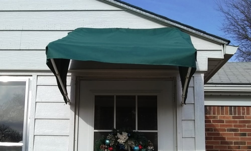 DIY Front Door Awning
